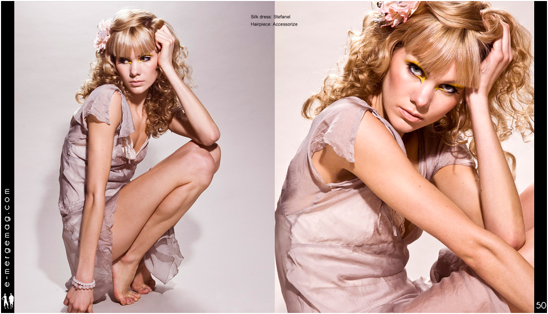 Photo: magazine, press, tear-sheet, fashion editorial, by Margaret Yescombe, Photographer Hackney London
