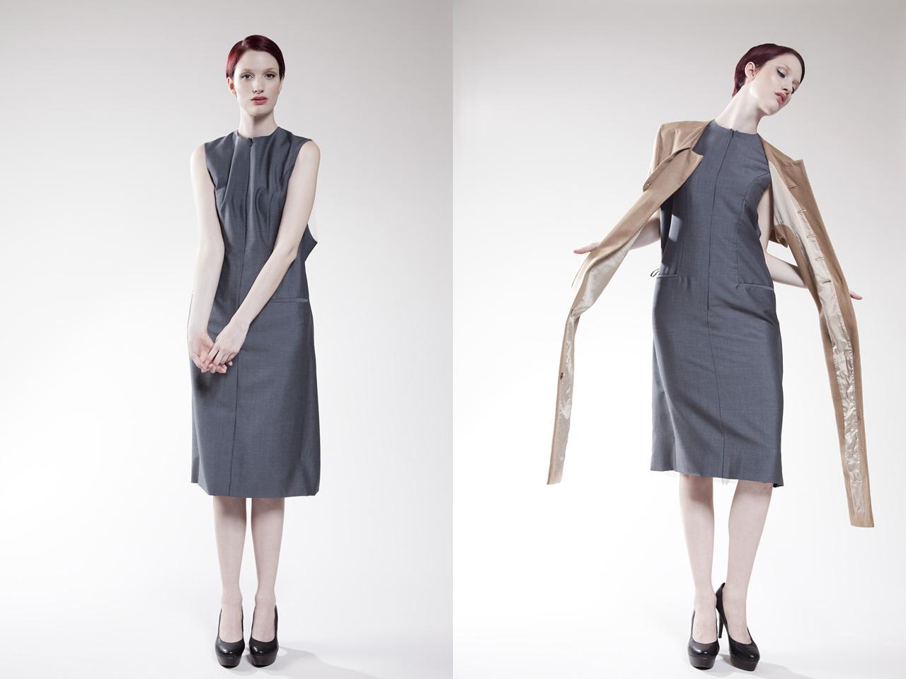 Photo: Womens Fashion Designer Vivian Wong, Model Kara, Collection Lookbook by Margaret Yescombe Photographer Hackney London