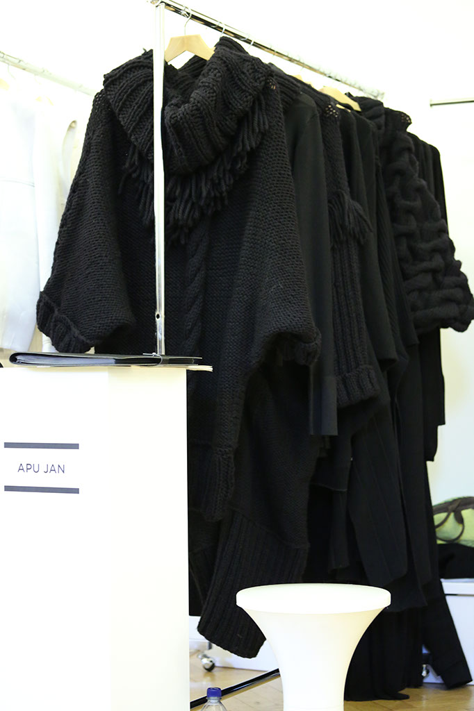 Fashion Scout Exhibition - Designer Apu Jan - by Margaret Yescombe Photographers London