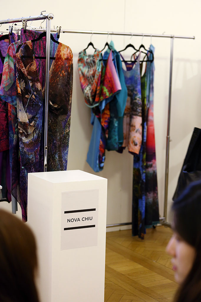 Fashion Scout Exhibition, Designer Nova Chiu, by Margaret Yescombe Photographers London