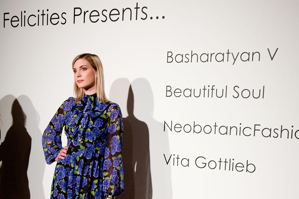 LFW Somerset House - Felicities PR : Fashion Designer Presentation - Designers look on model