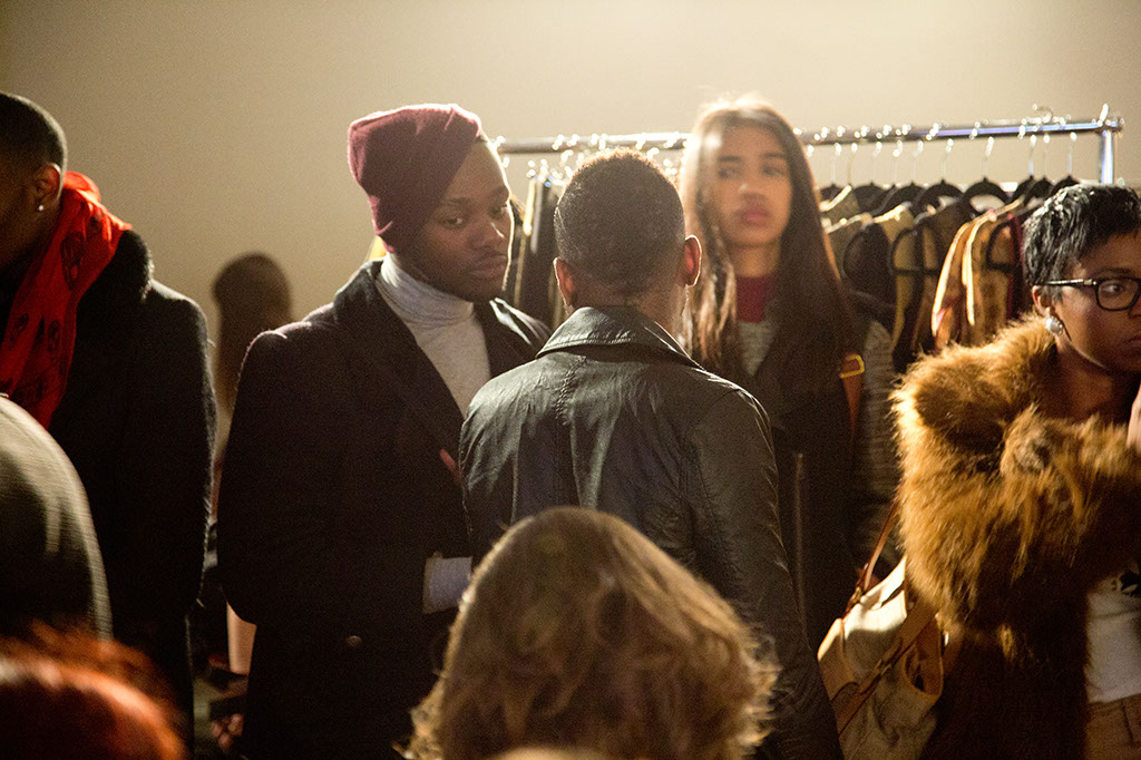 LFW Somerset House - Felicities PR Presents : Fashion Designers - fashion industry crowd