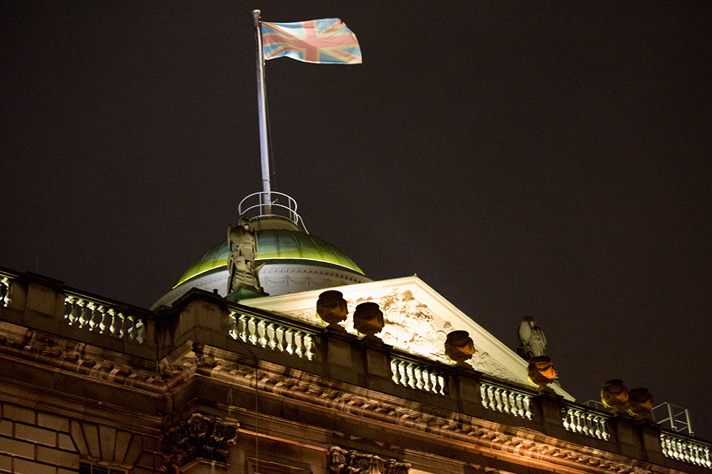 Somerset House - Union Jack Flag