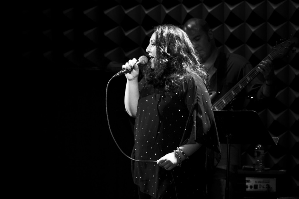 Tori Scott performing at Joe's Pub, Public, NYC