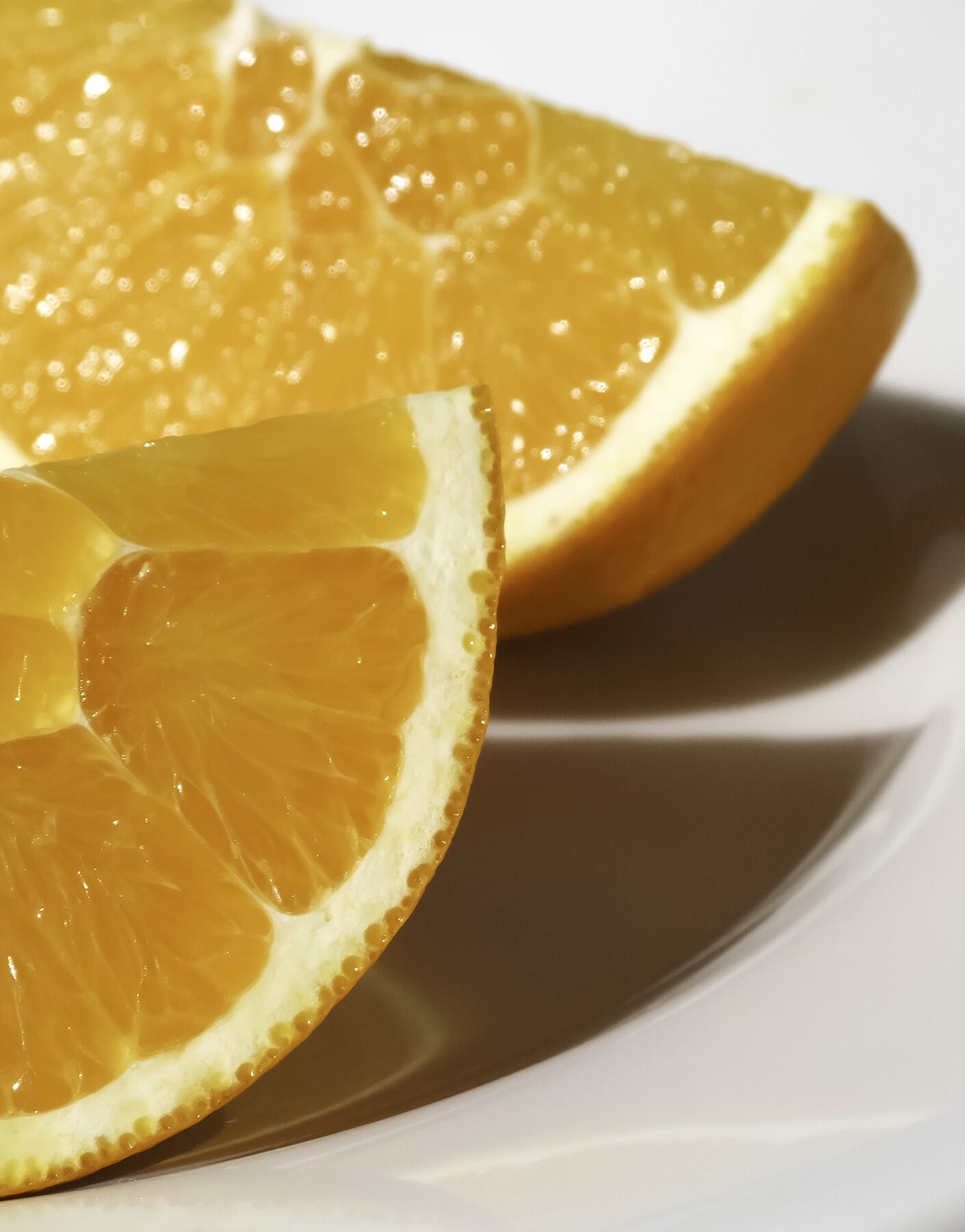 Photo: London food photographer, orange, fresh, fruit, slices, plate, food, healthy, eating, delicious, juicey, eat